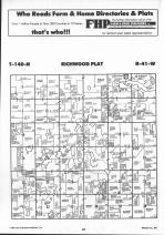Richwood T140N-R41W, Becker County 1992 Published by Farm and Home Publishers, LTD